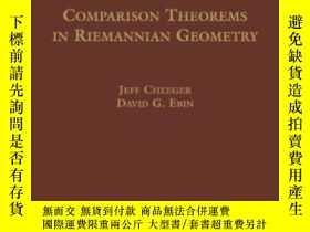 二手書博民逛書店Comparison罕見Theorems In Riemannian Geometry (ams Chelsea