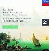 【停看聽音響唱片】【CD】羅西尼:弦樂奏鳴曲全集