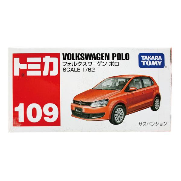 TOMICA 多美小汽車 NO﹒109 福斯 VOLKSWAGEN POLO 房車
