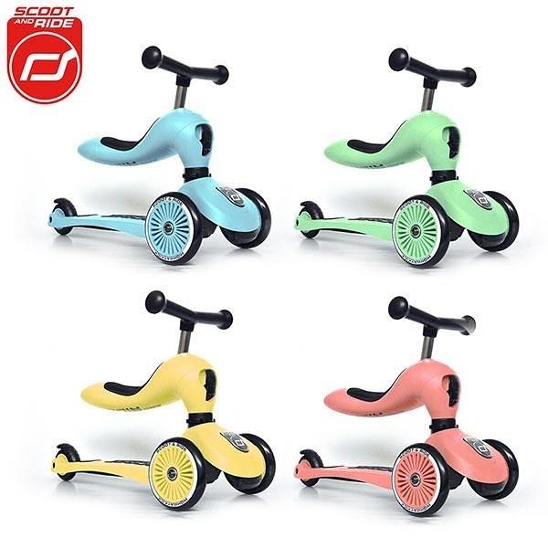 【南紡購物中心】奧地利【Scoot&Ride】Cool飛/二合一滑步車