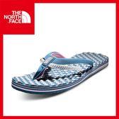 【The North Face 女 人字夾腳拖鞋《 印地安藍綠/灰》】CCM7/夾腳拖鞋/人字拖/沙灘鞋