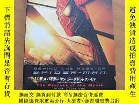 二手書博民逛書店BEHIND罕見THE MASK OF SPIDER-MAN 蜘蛛俠設定集 日版Y178456 Mark co