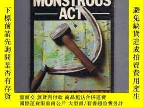 二手書博民逛書店稀少,《A罕見Single Monstrous Act》 約1976年出版Y351918 如圖 如圖 出版1