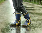 鋼包頭鋼底板防水雨鞋男士防砸防穿刺傷雨靴工地煤礦工作用釣魚鞋   東川崎町  YYS