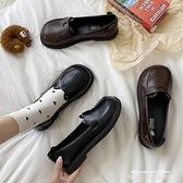娃娃鞋 秋復古小皮鞋女可愛軟妹jk制服瑪麗珍大頭娃娃鞋ins學生單鞋 萊俐亞 交換禮物