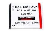 For 相機鋰電池 【SLB07A】 鋰電池 SLB-07A ST500 ST550 650mAh 新風尚潮流