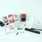 【instax mini90拍立得相機平價套餐 公司】Norns 富士FUJIFILM拍立得相機 聖誕節禮物