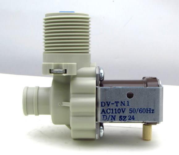 【90°單孔進水閥】(韓製) DV-TN1 洗衣機 單管(孔) 一進一出 直型 進水閥 給水閥 外觀相同可用