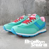 PONY 藍綠 紅鞋帶  慢跑 休閒 透氣 女生 (布魯克林) 61W1SO69GN