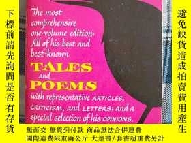 二手書博民逛書店《Edgar罕見Allan POE:TALES and POEM