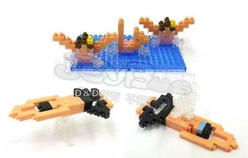 《 Nano Block 迷你積木 》【 奧運運動項目系列 】NBCB - 001 水上項目╭★ JOYBUS玩具百貨