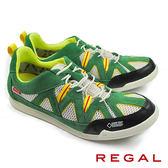 【REGAL】防水透氣超輕量運動鞋 綠色(52HR-GRWT)