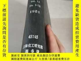 二手書博民逛書店CONTROL罕見& INSTRUMENTATION.Vol.1