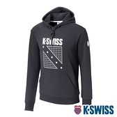 K-SWISS North Court Hoodie連帽上衣-男-黑
