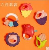 紐樂嬰兒手搖鈴0-3-6-12個月新生幼兒男女孩1歲寶寶益智牙膠玩具