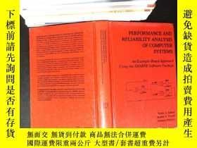 二手書博民逛書店Performance罕見and Reliability Analysis of Computer Systems