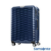 Samsonite新秀麗 28吋Polygon 極致奢華PC煞車雙輪TSA行李箱(藍)