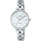 ALBA雅柏 優雅甜心風采女錶-銀x28mm VJ32-X289S(AG8J75X1)