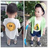 嬰兒防曬衣男夏季薄款寶寶空調衫1-3歲長袖女童純棉透氣開衫外套