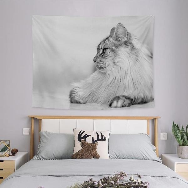 背景布掛布房間床頭臥室布置墻布墻面裝飾掛毯【英賽德3C數碼館】