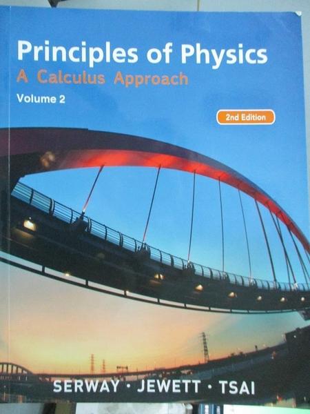 【書寶二手書T1/大學理工醫_YEQ】Principles of physics-A calculus approach2/e