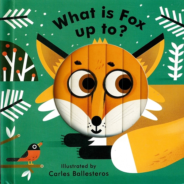 Little Faces:What Is Fox Up To? 變臉操作書:狐狸想做什麼呢?