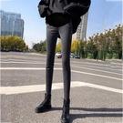 孕婦褲 媽咪~孕婦牛仔褲春外穿孕婦褲子冬托腹長褲加絨加厚小腳褲【快速出貨八折鉅惠】