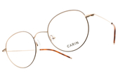 CARIN 光學眼鏡 SEVIGNY C2 (玫瑰金-琥珀棕) 韓星秀智代言 經典復古圓框款 # 金橘眼鏡