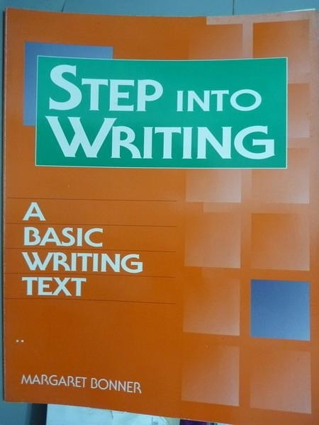 【書寶二手書T6/語言學習_PFT】Step into Writing:A Basic Writing Text_Mar