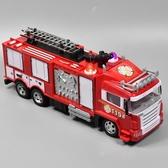 遙控車 噴水消防車玩具大號電動遙控車噴水車充電燈光音樂男孩兒童玩具