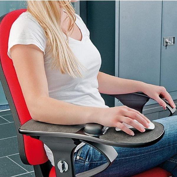 手臂護腕滑鼠架桌椅兩用【轉角1號】