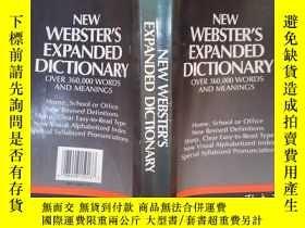 二手書博民逛書店NEW罕見WEBSTER S EXPANDED DICTIONARY(詳見圖)Y6583 Webster 詳見