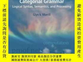 二手書博民逛書店Categorial罕見Grammar: Logical Syn