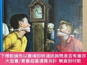 二手書博民逛書店The罕見Hardy Boys 11: While the Clock Ticked(英文原版,插畫版)Y44
