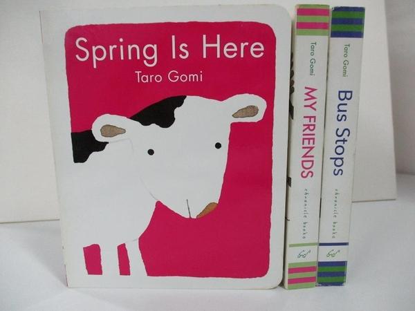 【書寶二手書T6/少年童書_GZS】Spring Is Here / My Friends / Bus Stops_Gomi, Taro (ILT)