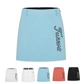 高爾夫裙 高爾夫女裙A字春夏薄款透氣防走光高爾夫服裝女士裙子百褶橙天藍-Ballet朵朵