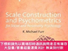 二手書博民逛書店Scale罕見Construction And Psychometrics For Social And Pers
