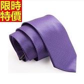 桑蠶絲領帶 男配件-格子紋真絲領帶商務職業正裝手打領帶66ae26【巴黎精品】