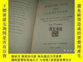 二手書博民逛書店【罕見】1951年出版 林語堂作品:Widow, Nun and