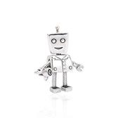 Pandora 潘朵拉 魅力Rob Bot 垂墜純銀墜飾