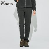 ADISI 女Softshell超撥水高透氣保暖長褲AP1921053 (S-2XL) / 城市綠洲 (軟殼、刷毛、防潑水)