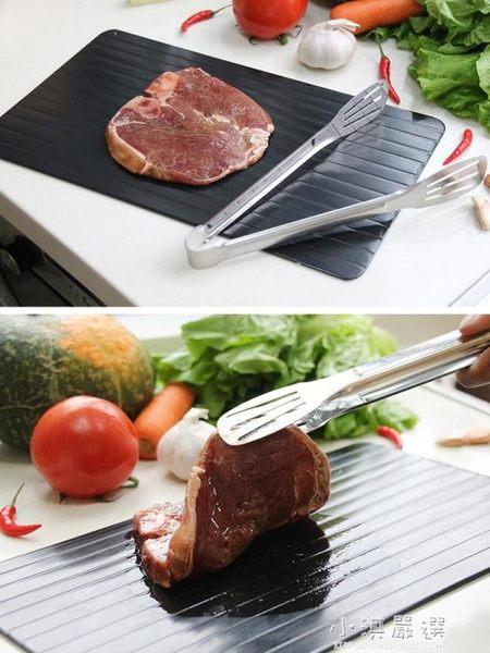 解凍板急速快速解凍版盤極速化肉化凍板日本原裝砧板廚房神器家用『小淇嚴選』