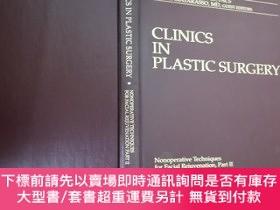 二手書博民逛書店CLINICS罕見IN PLASTIC SURGERY 2 整形外科臨床 第2卷Y46704 Clinics
