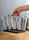 杯架 鐵藝杯子收納架杯子架家用玻璃杯置物...