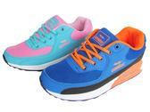 『雙惠鞋櫃』◆Combat ◆ 女款  透氣鞋墊玩色系列  氣墊休閒運動鞋 ◆ (22-512) 藍橘、粉