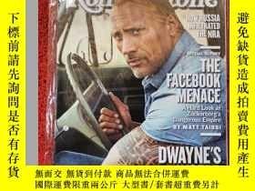 二手書博民逛書店Rolling罕見Stone 滾石雜誌 2018年5月3日 英文版Y42402