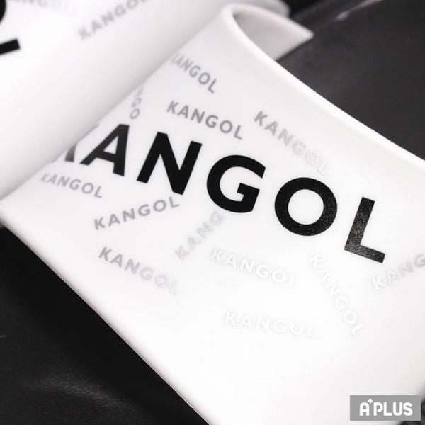 KANGOL 拖鞋 橡膠 防水 耐磨-6125162100
