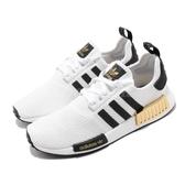 adidas 休閒鞋 NMD_R1 白 黑 男鞋 女鞋 運動鞋 襪套式 【PUMP306】 EG5662