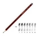 《享亮商城》MS110-HB 紅武士經典繪圖鉛筆 施德樓