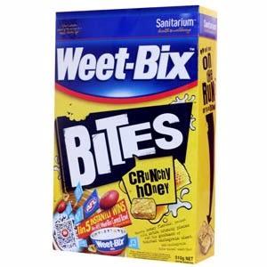 Weet_Bix 蜂蜜風格小口纖麥酥 510g/ 盒 (產品效期2018/8) *維康